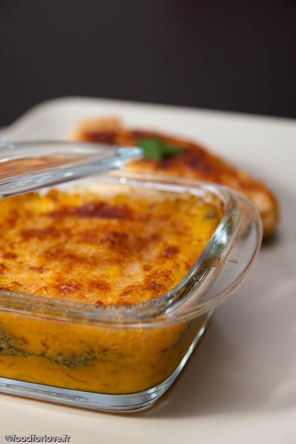 gratin butternut pesto food for love
