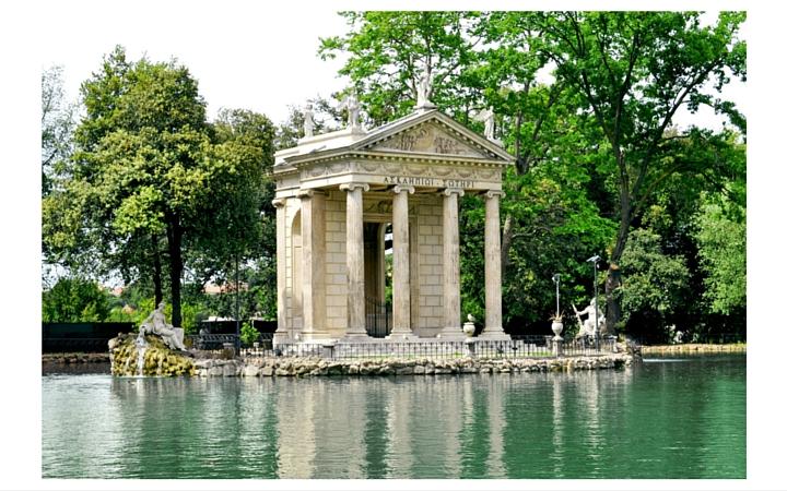 parc villa Borghese