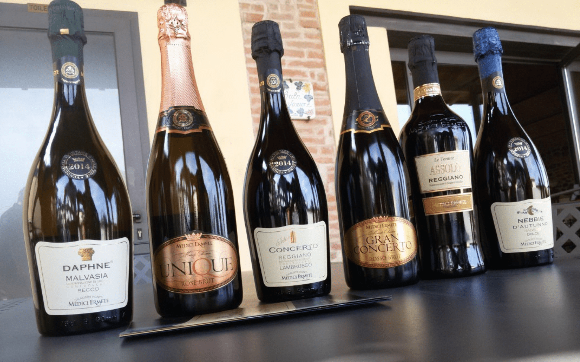 Medici Ermete producteur traditionnel de Lambrusco
