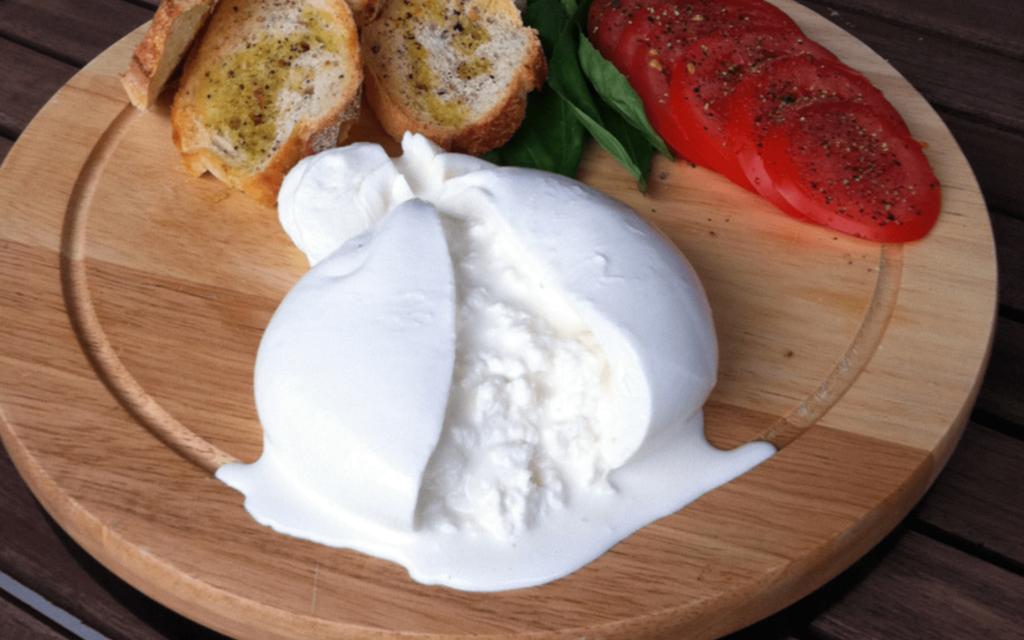 Mozzarella ou burrata