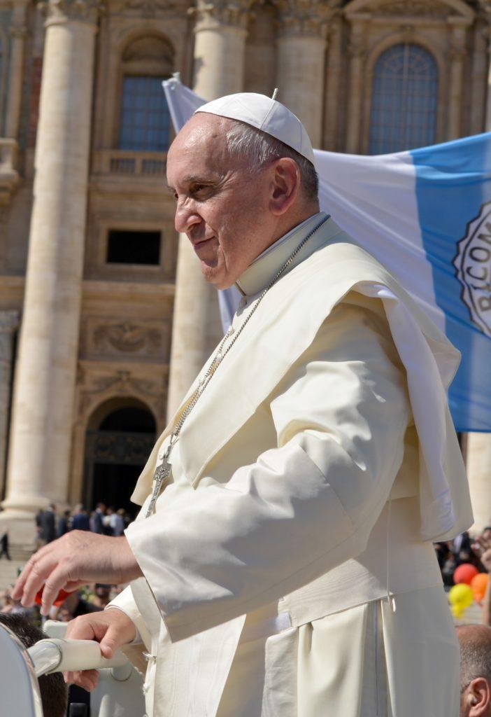 Paques avec le pape