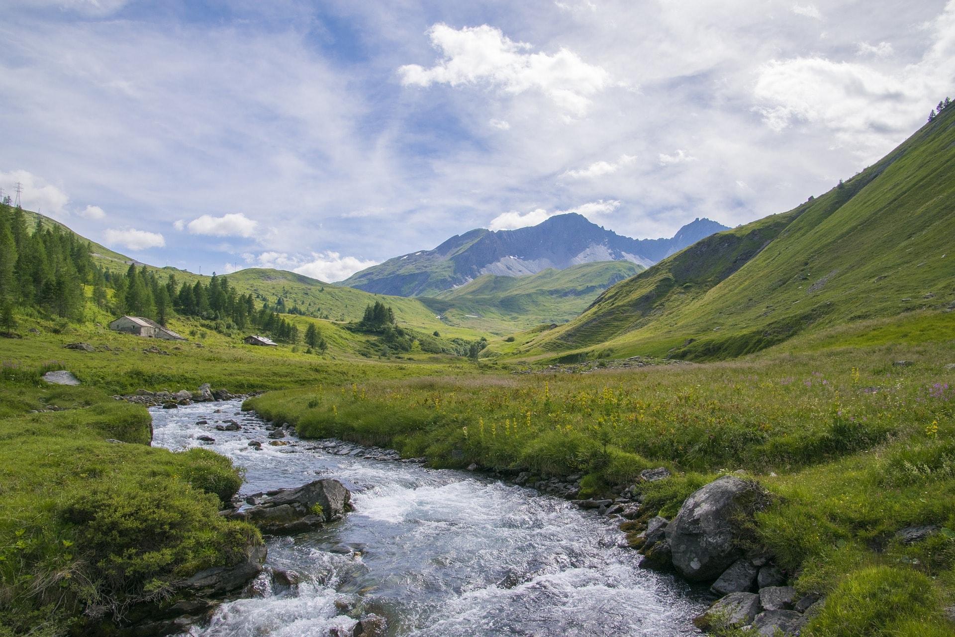 La Thuile lac valle d Aoste