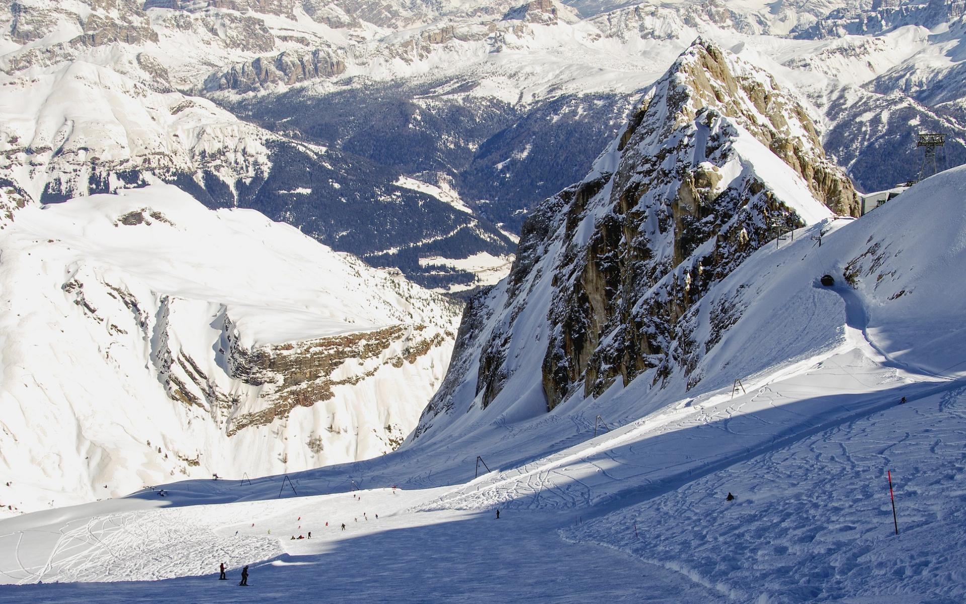 Ou skier dans les alpes italiennes