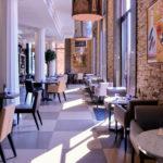 interieur restaurant Il Ristorante Nimes