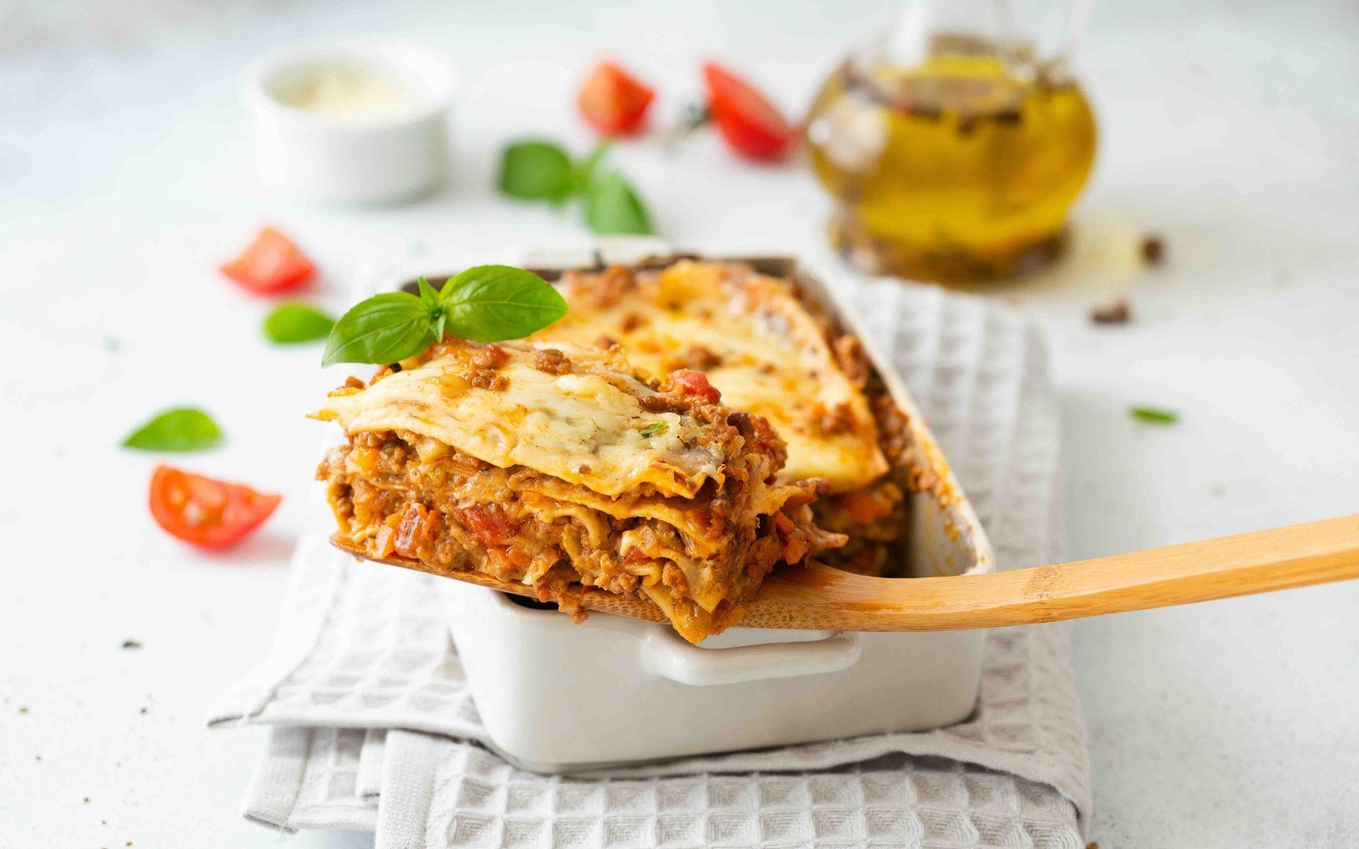 lasagnes a l'italienne une