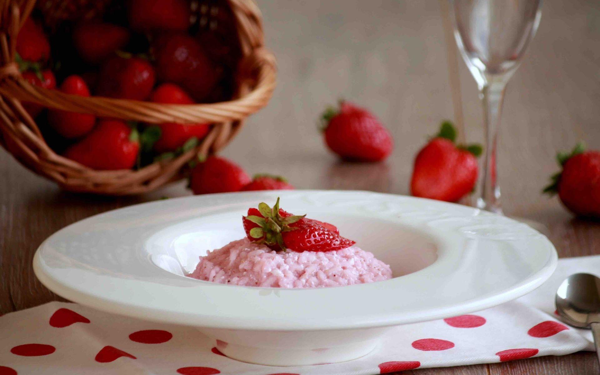 risotto aux fraises il risto