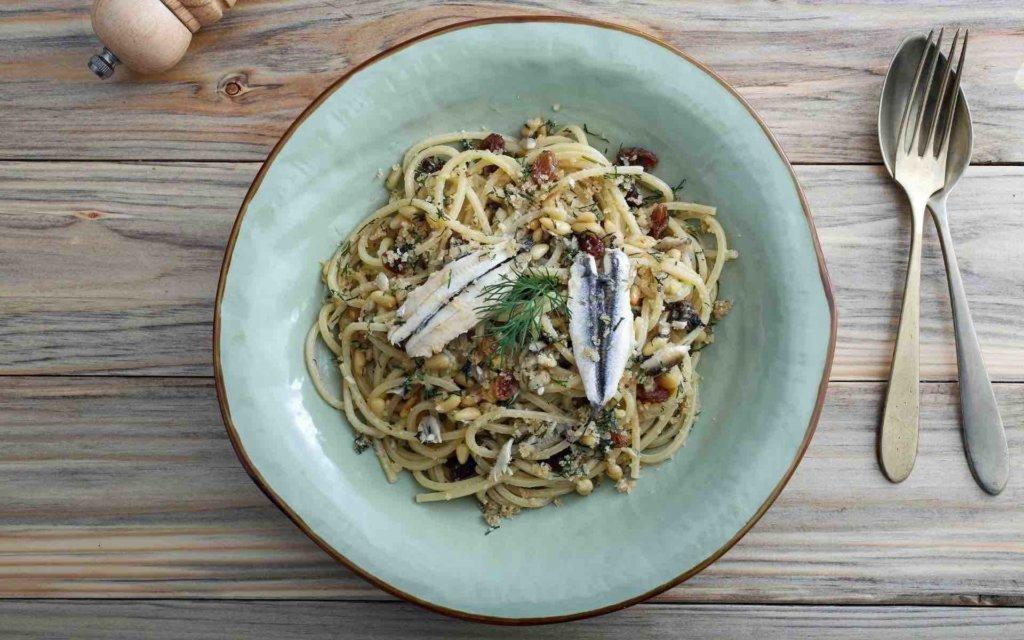 Spaghetti au poisson - une