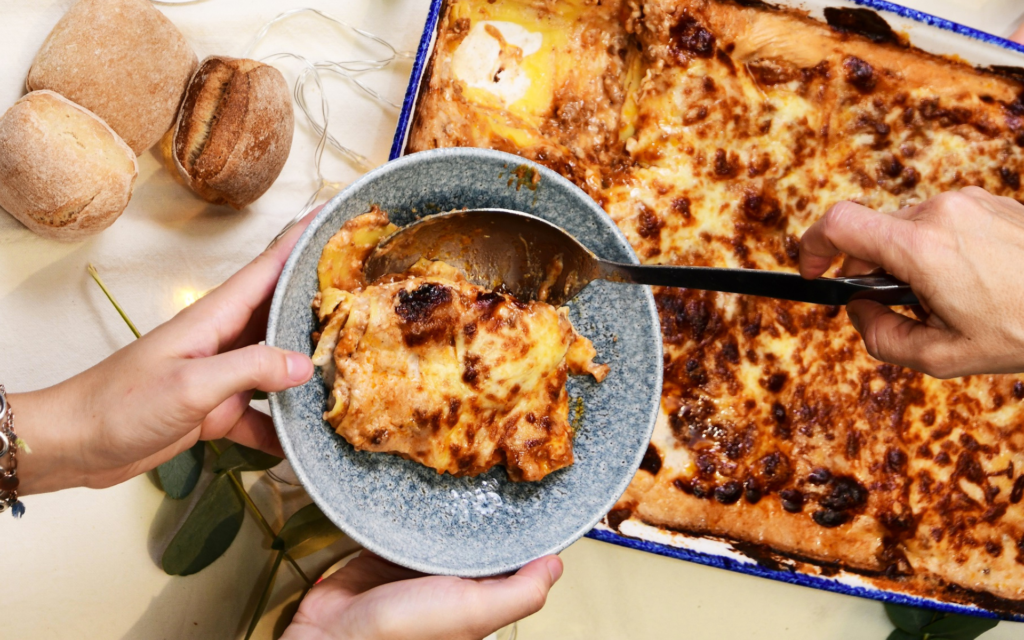 lasagne a la bolognaise - une
